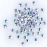 Stiklo kristalai AB SS3/200vnt.
