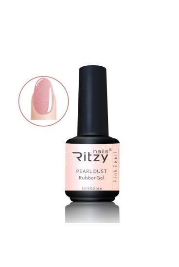 Rittzy gelinio lako bazė Pink Pearl 15ml