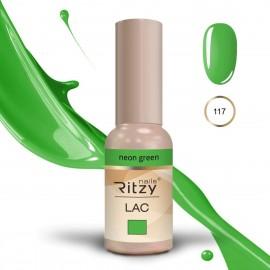 """Ritzy gelinis lakas """"Neon green"""" 9ml"""