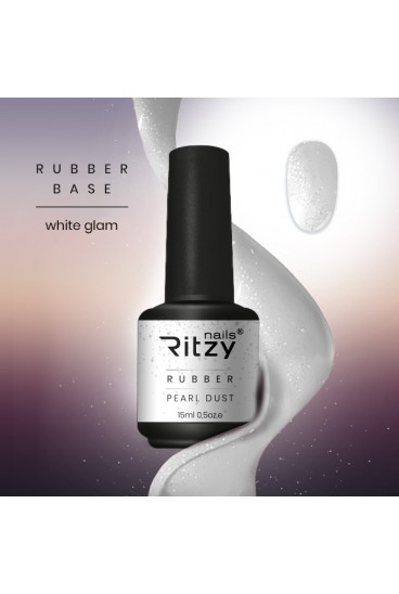 "Rubber bazė ""White glam"" 15ml"